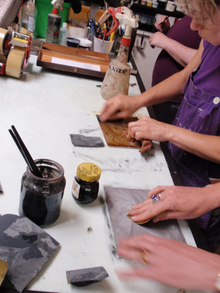 printmaking course, holidays, activities
